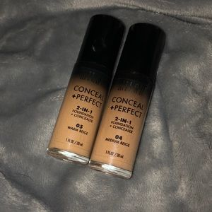 Milani Conceal & Perfect Foundation Bundle